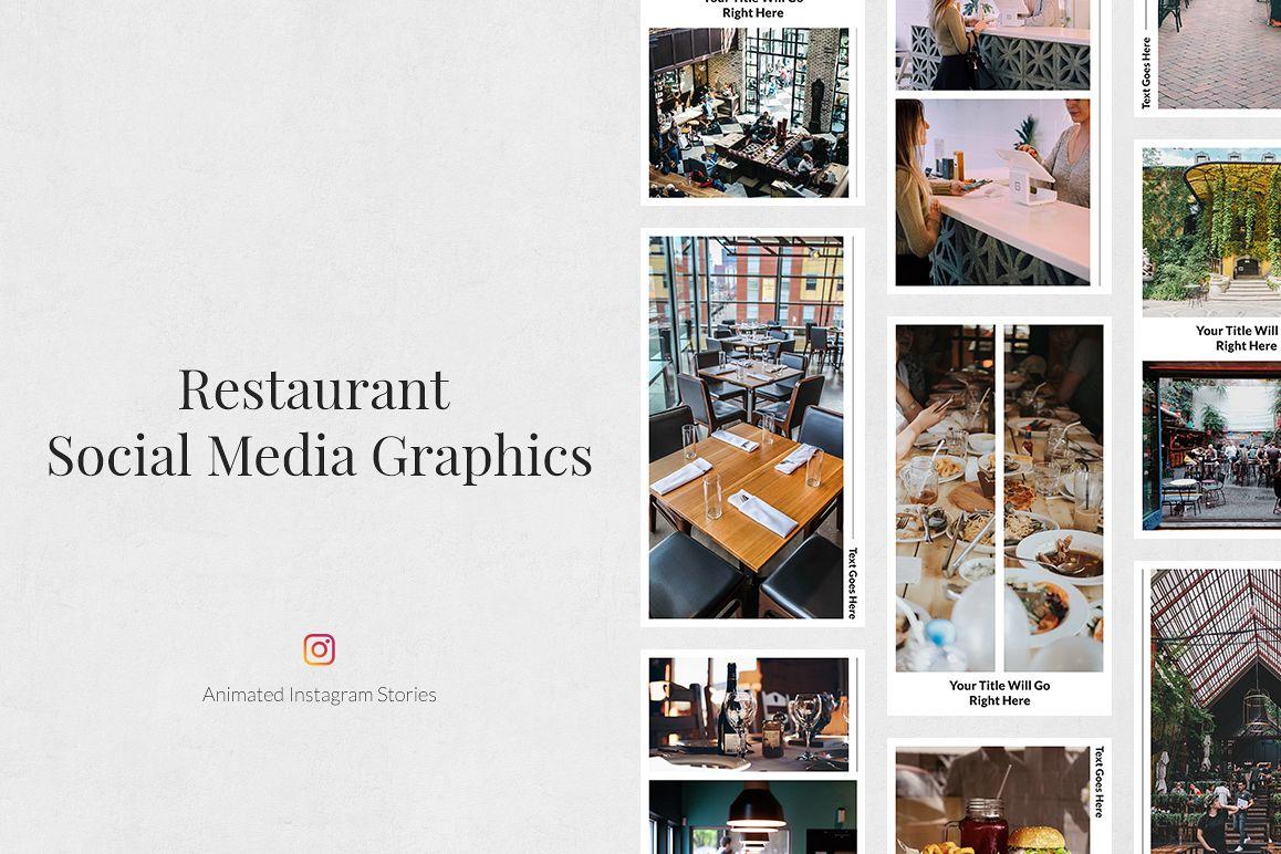 Restaurant Animated Instagram Stories example image 1