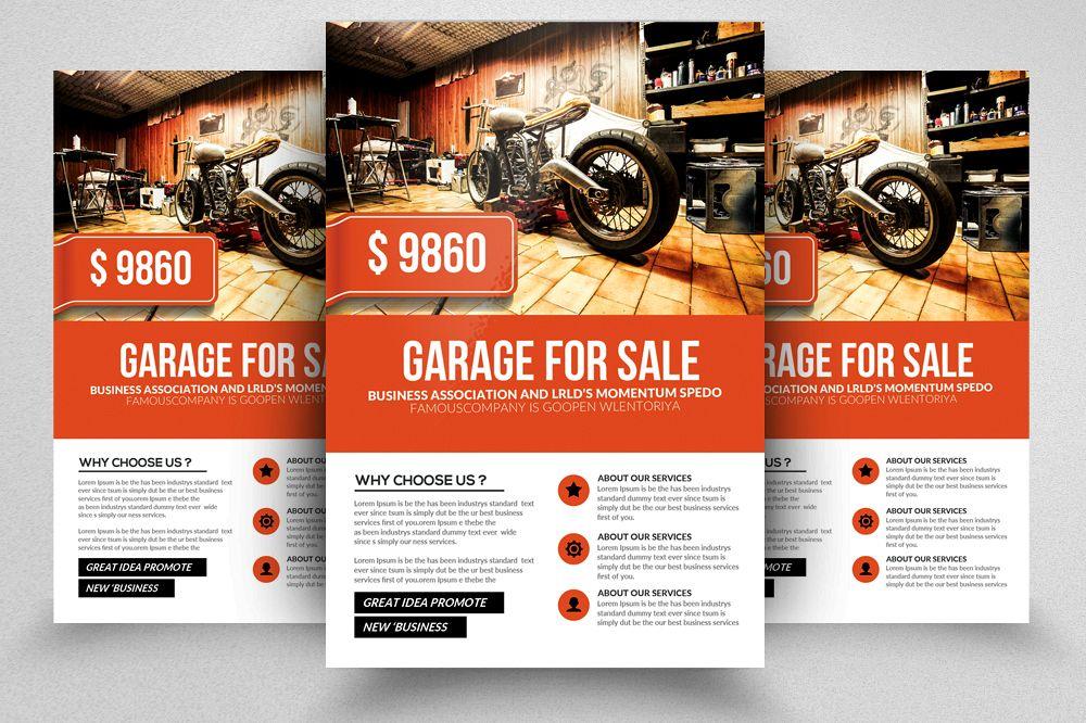 Garage Promo Flyer Templates Example Image 1