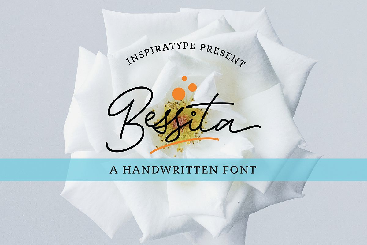 Bessita Handwriting - Script example image 1