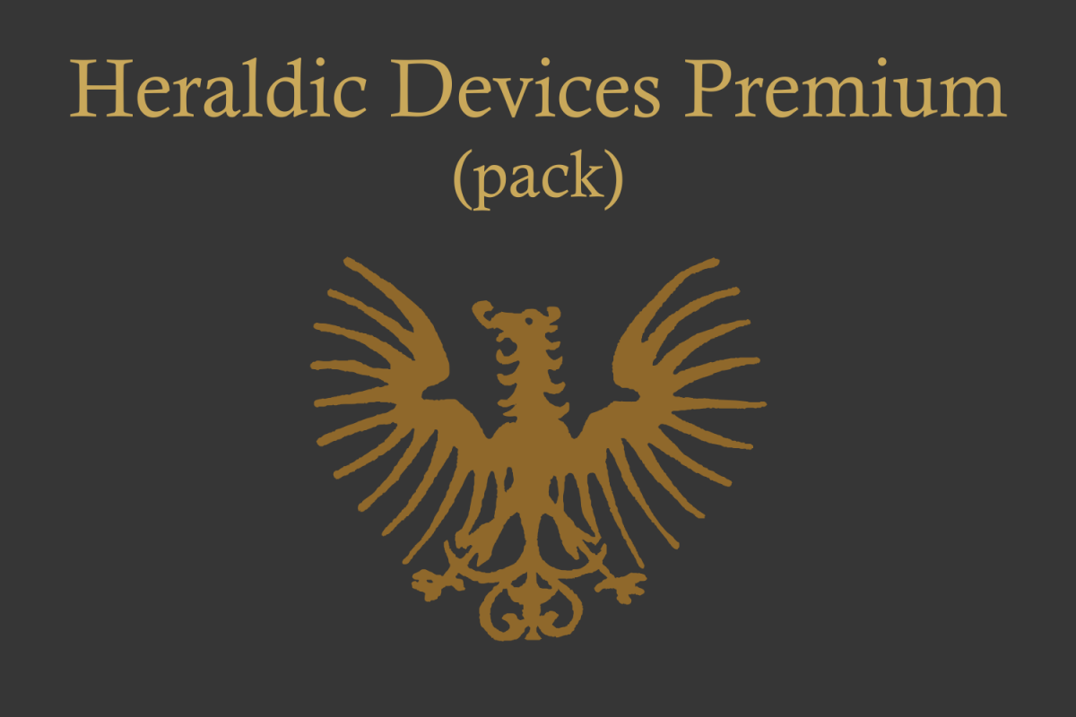 Heraldic Devices Premium (pack)  example image 1