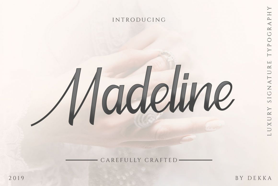 Madeline - Beauty Font example image 1