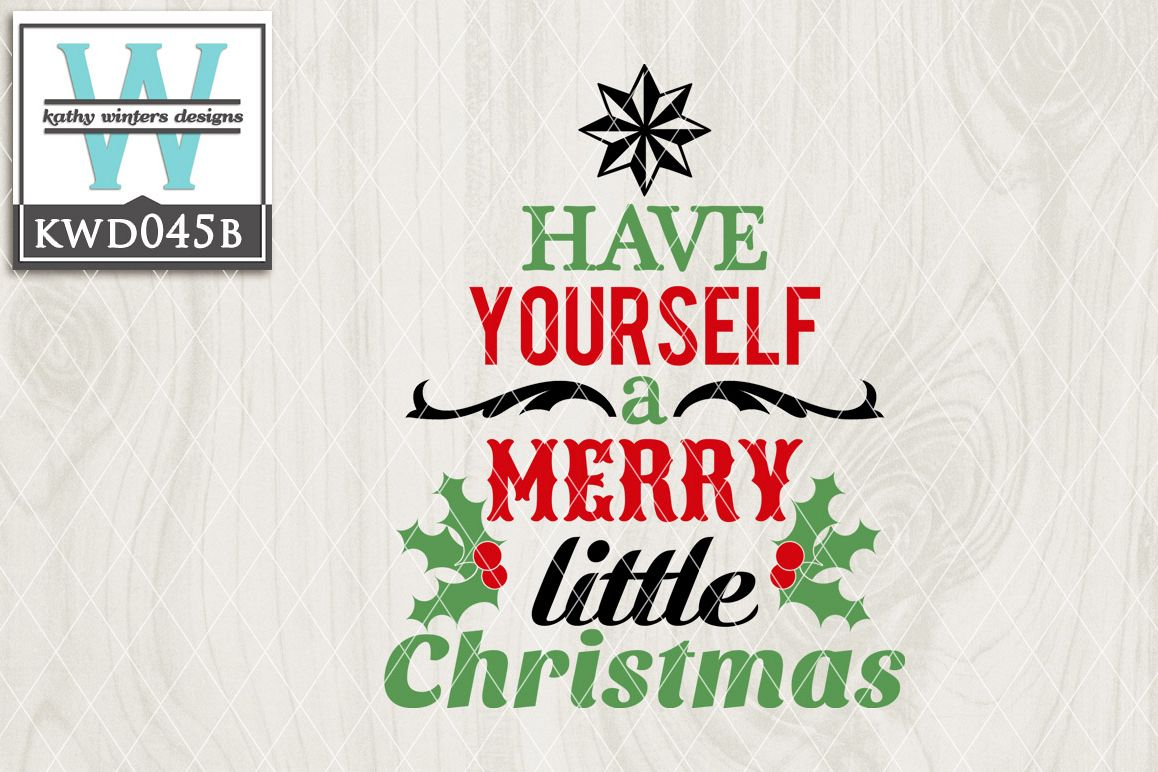 Christmas Cutting File KWD045B example image 1