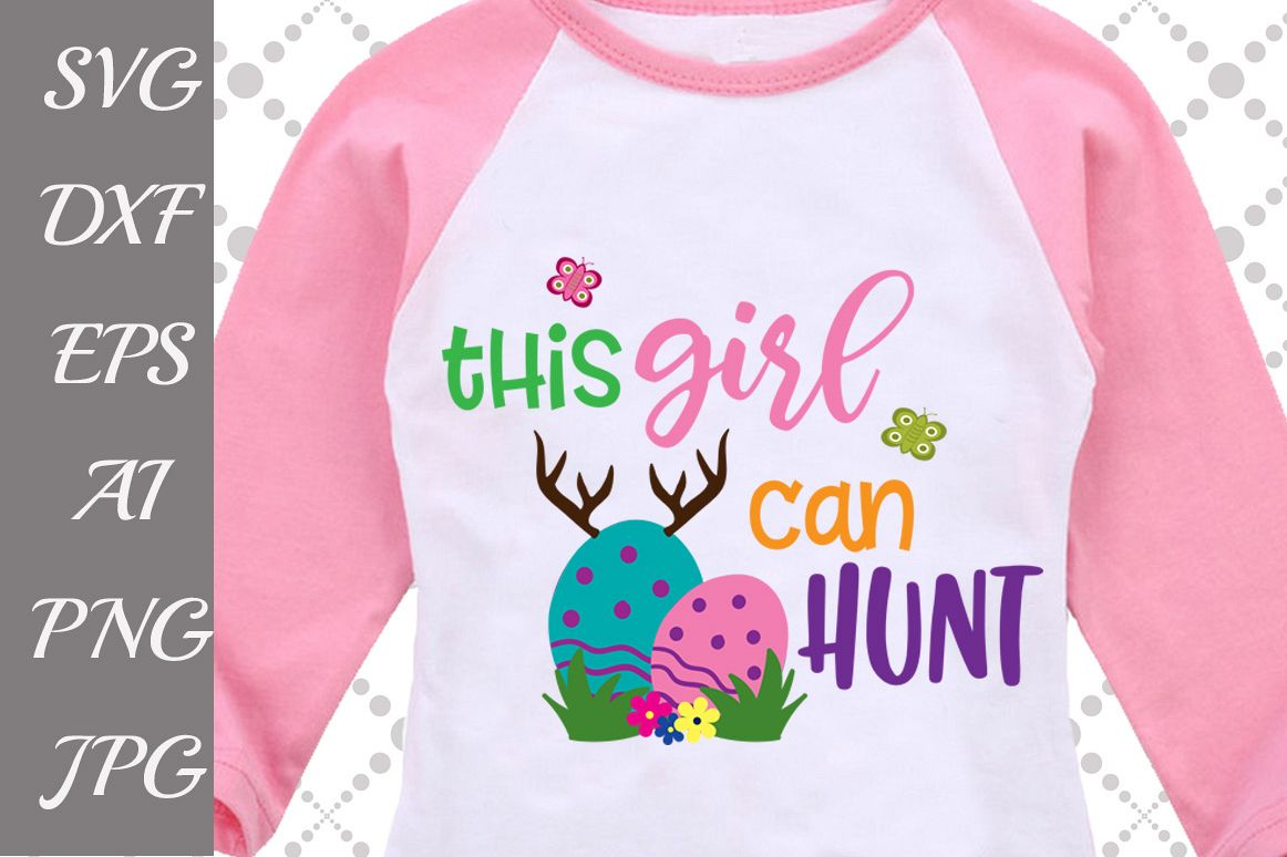 This Girl Can Hunt Svg example image 1