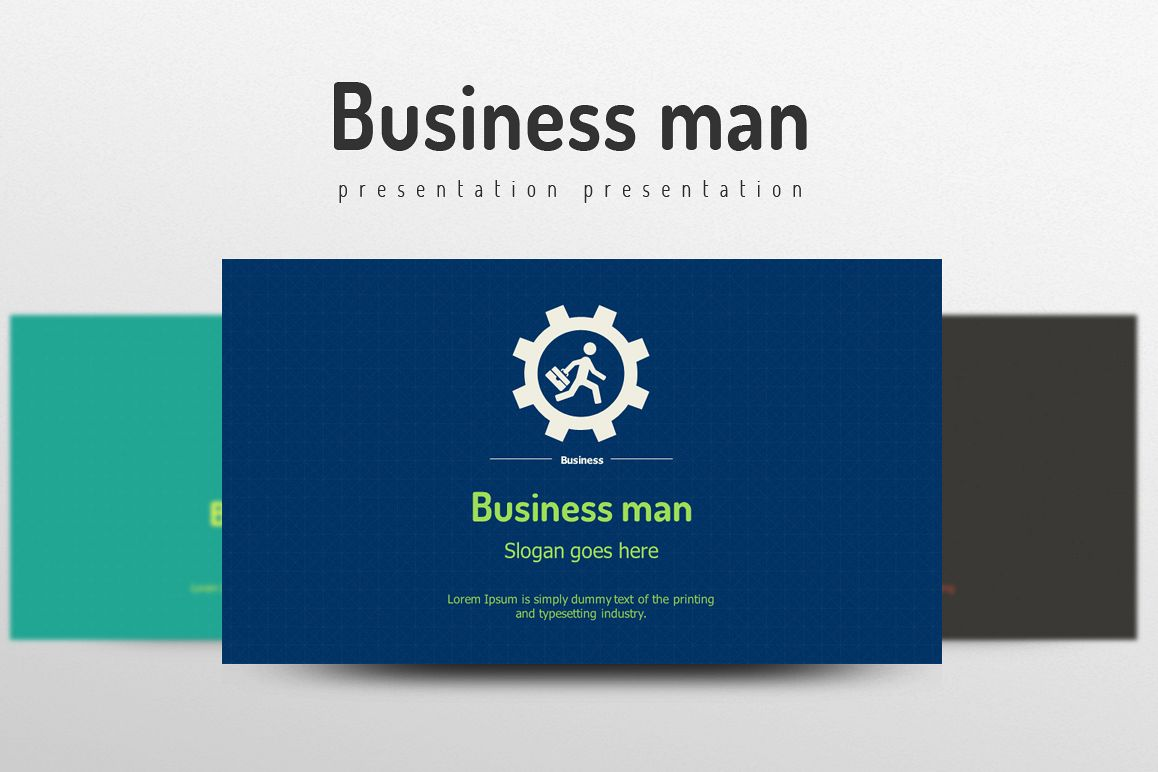 Businessman Template example image 1