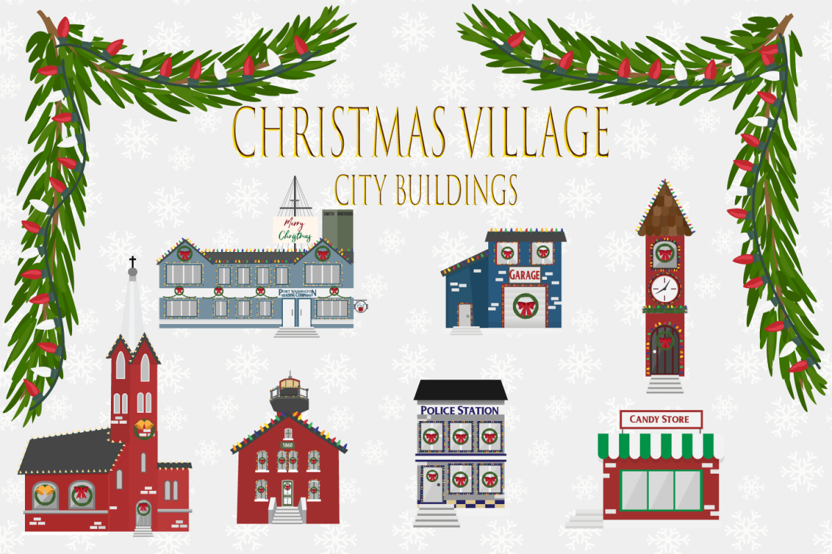 Christmas Village example image 1