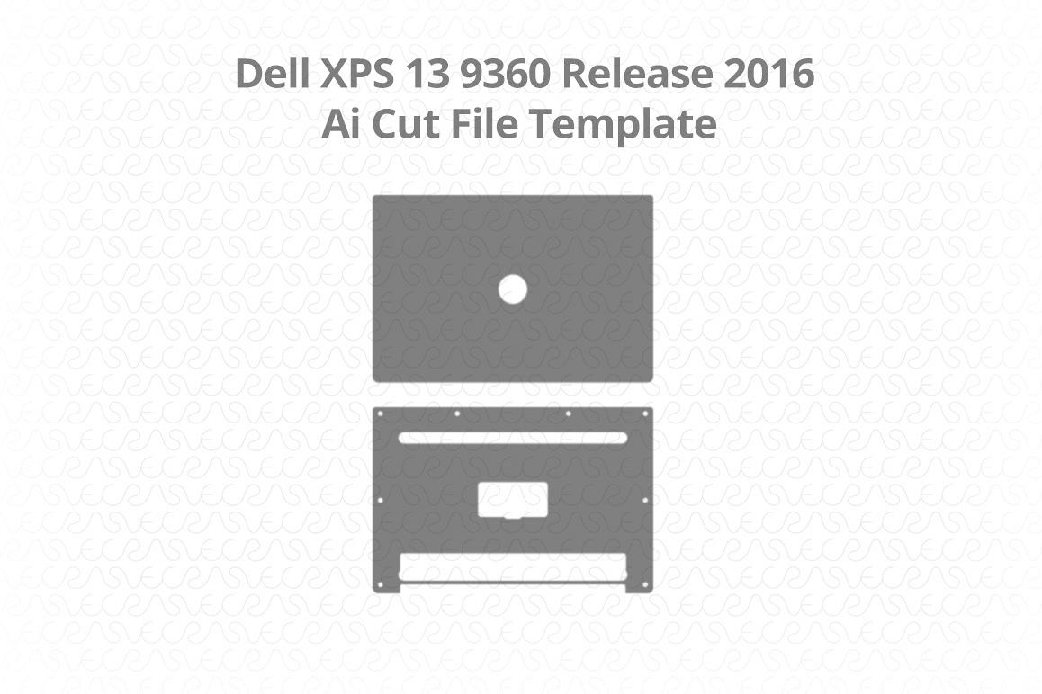 Dell XPS 13 9360 Vinyl Skin Vector Cut   Design Bundles
