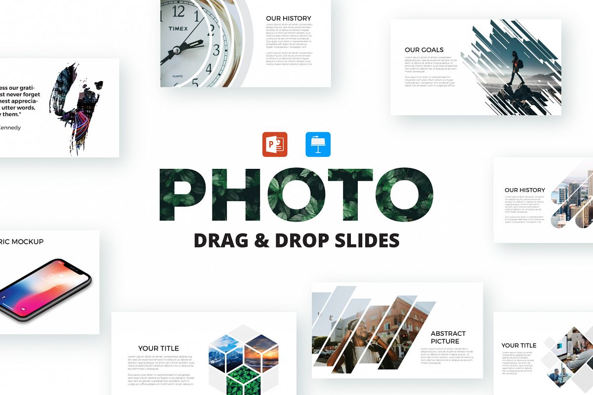Photo slides presentations example image 1