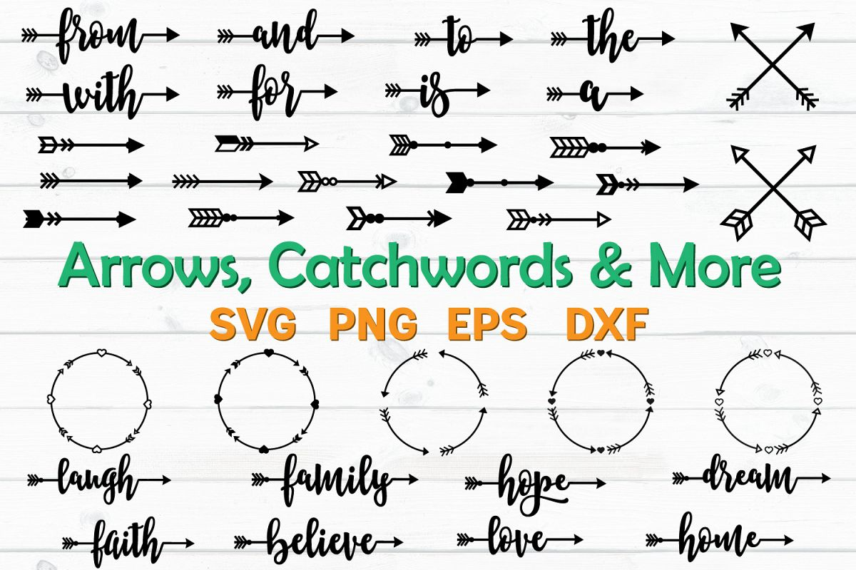 Arrows and Catchwords Bundle example image 1