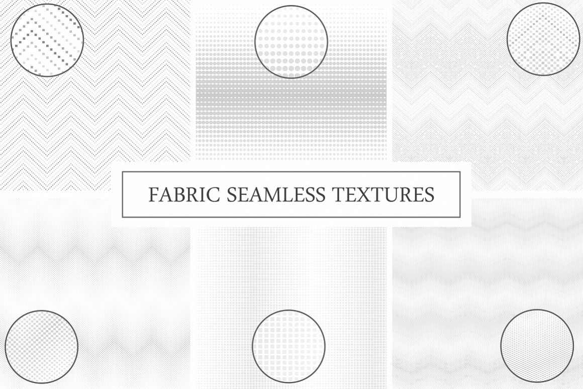 Fabric seamless textures. example image 1