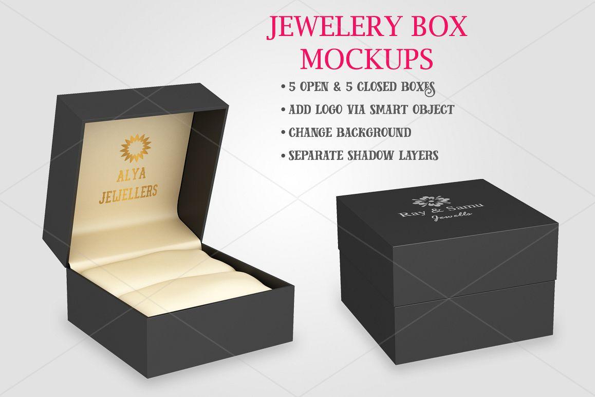 Jewelery Box Mockups Bundle example image 1