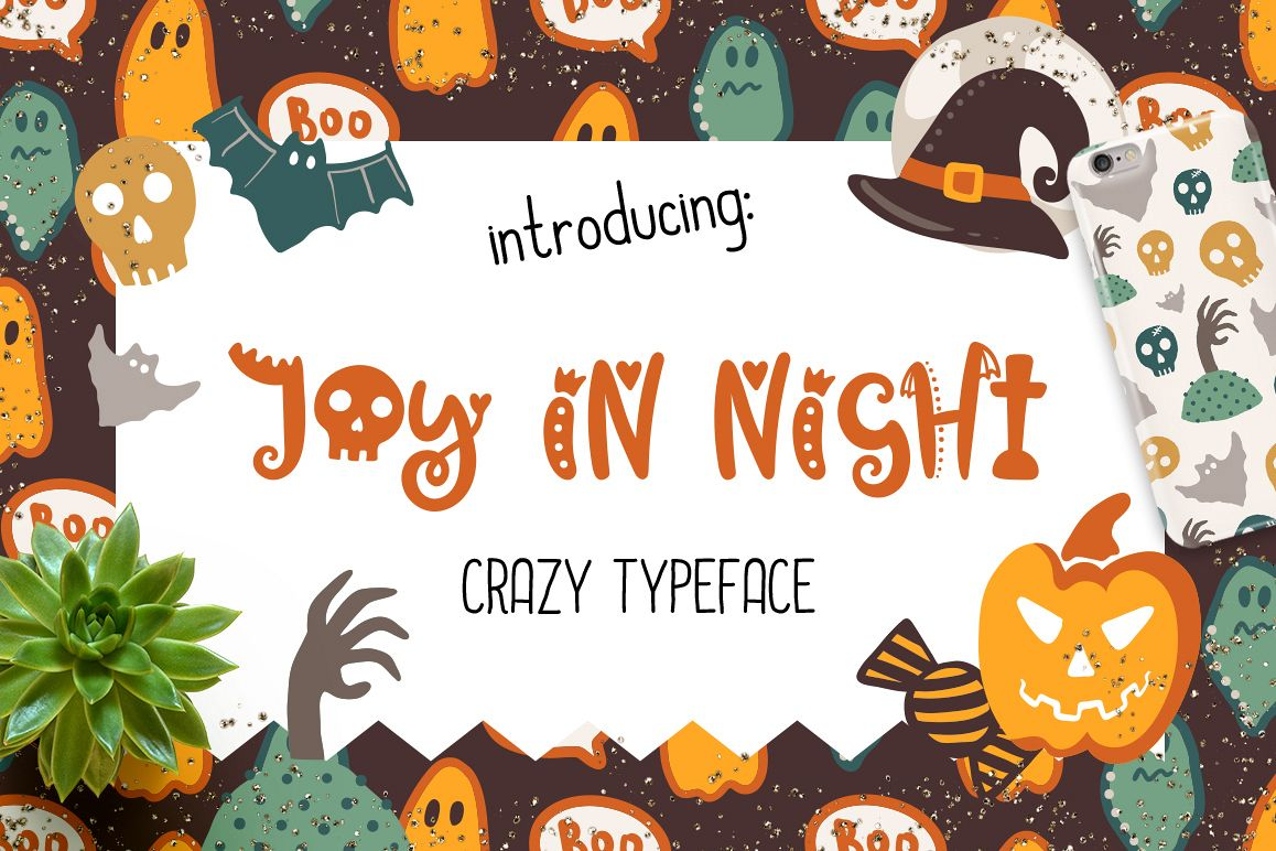 Joy in Night - Halloween Typeface example image 1