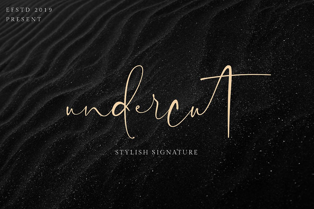 Undercut | Stylish Signature example image 1