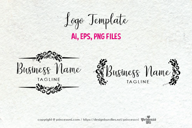Business logo template -1 example image 1