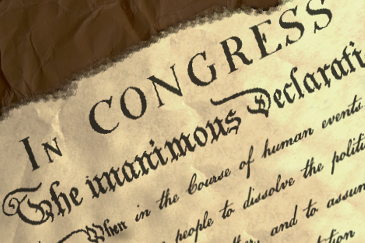 US Declaration example image 1
