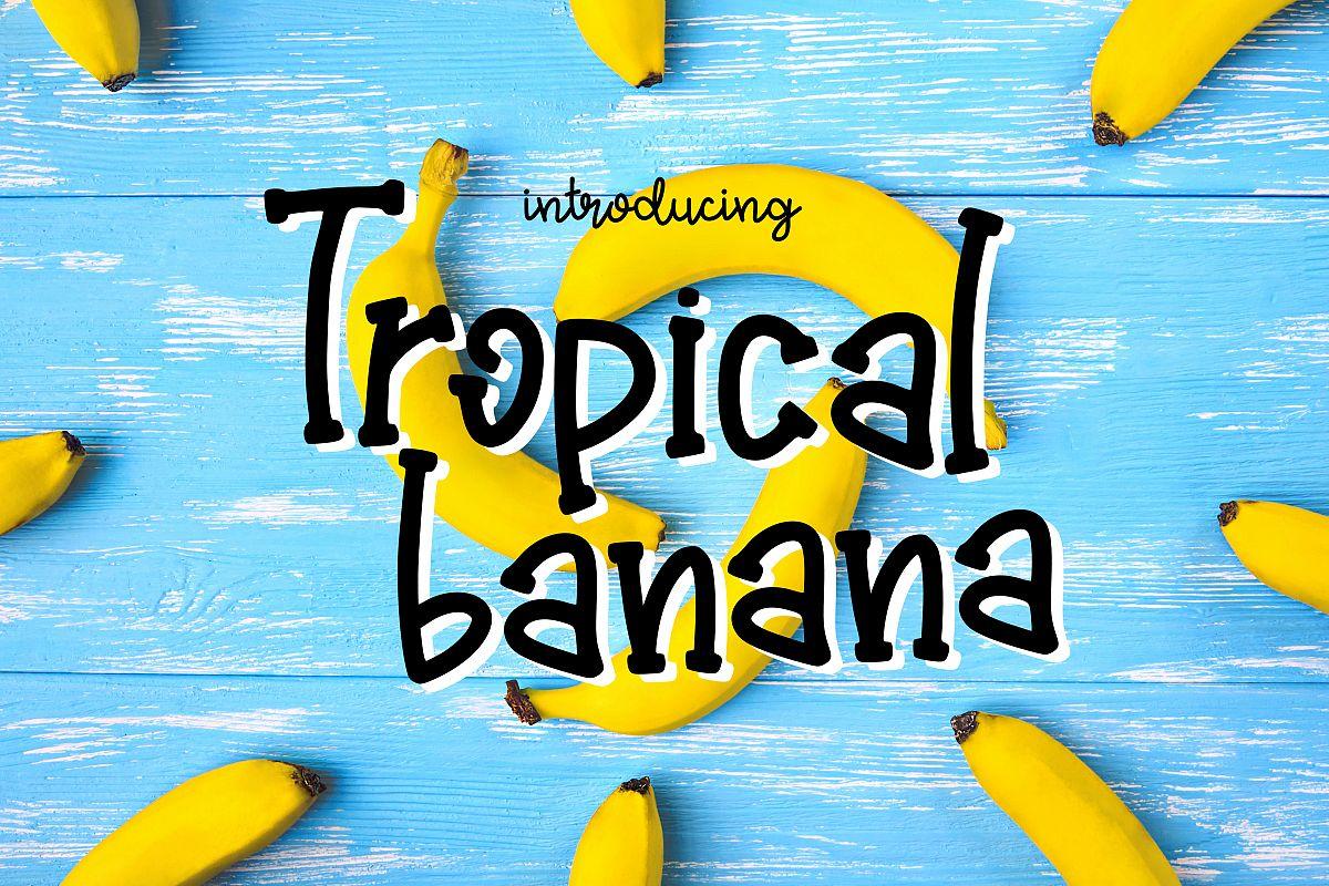 Tropical Banana example image 1