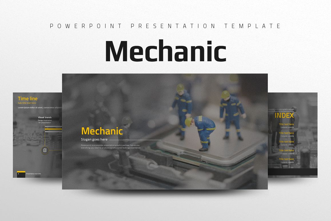 Mechanic PPT example image 1