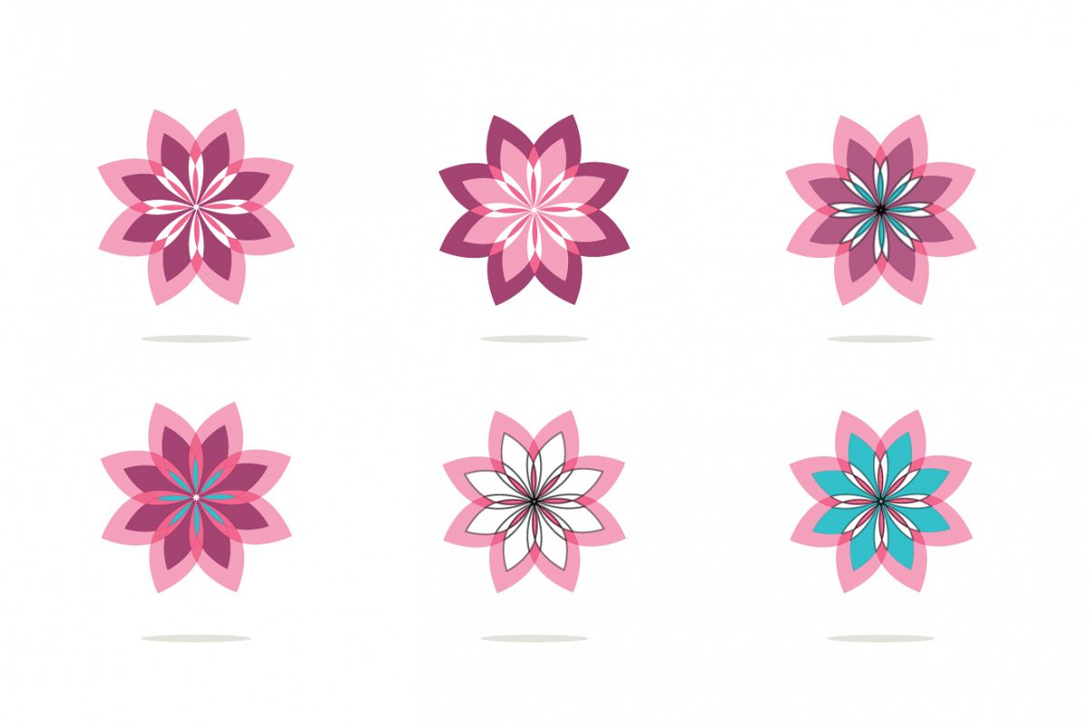 18 Flowers logos collection example image 1