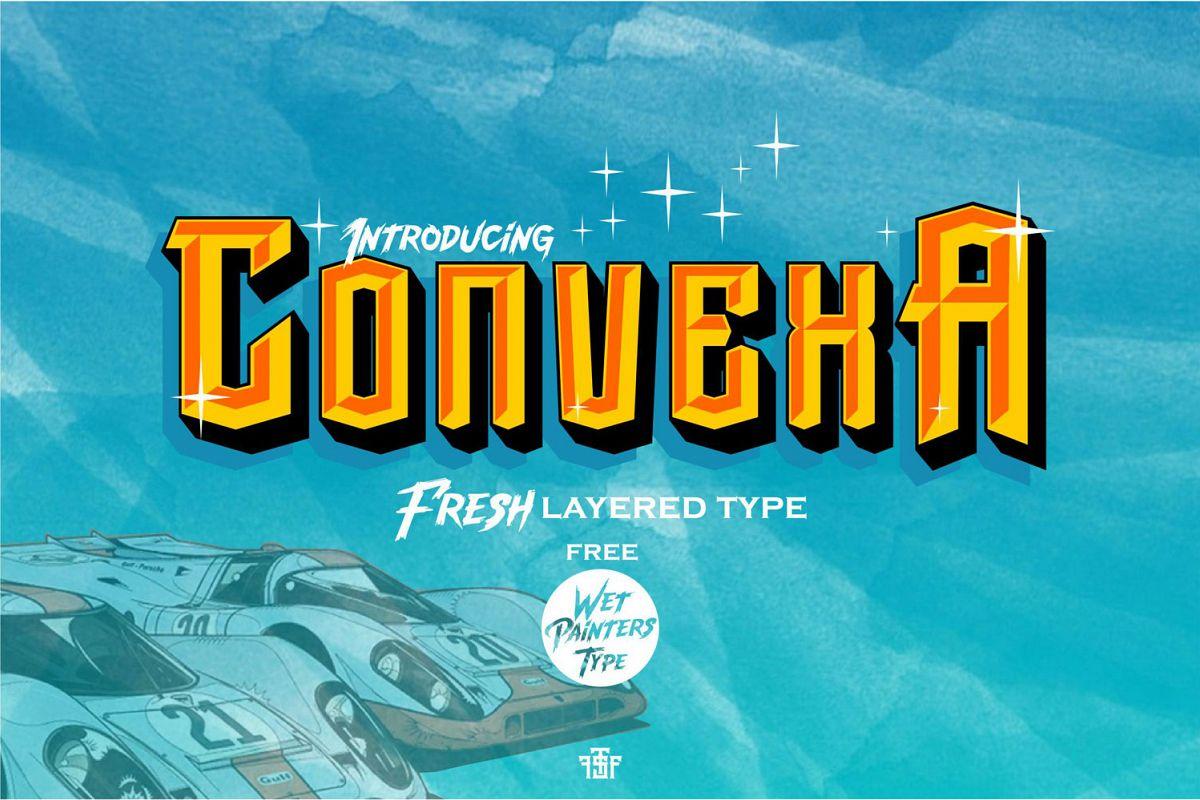 Convexa Typeface example image 1