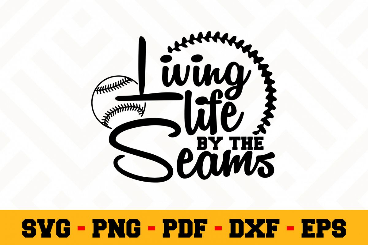 Baseball SVG Design n558 | Baseball SVG Cut File example image 1