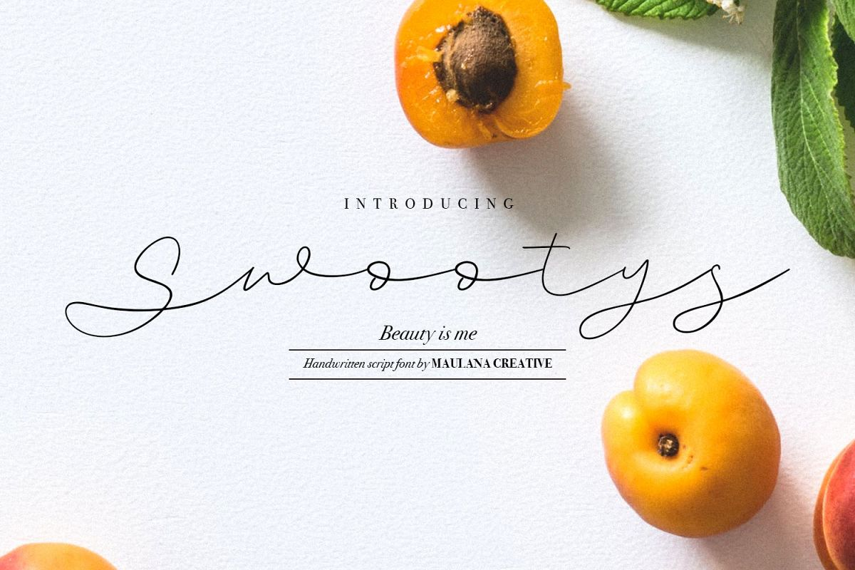 Swootys Script Font example image 1