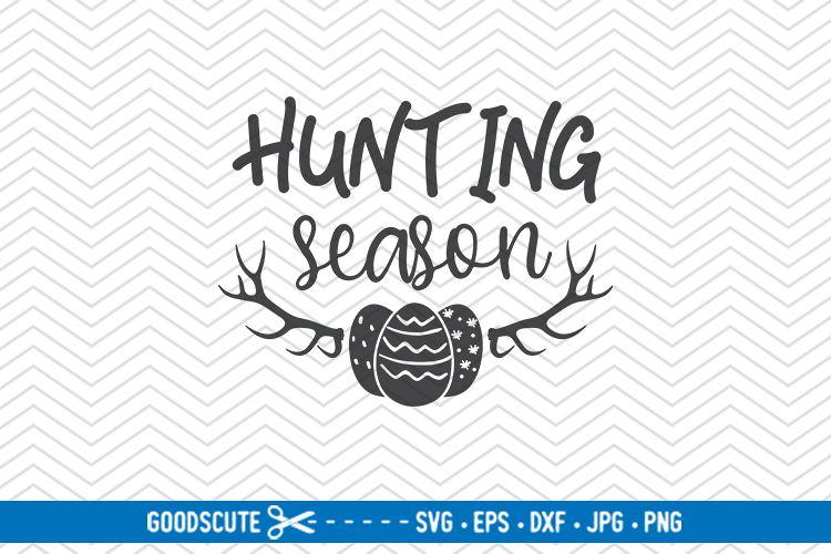 Hunting Season - SVG DXF JPG PNG EPS example image 1