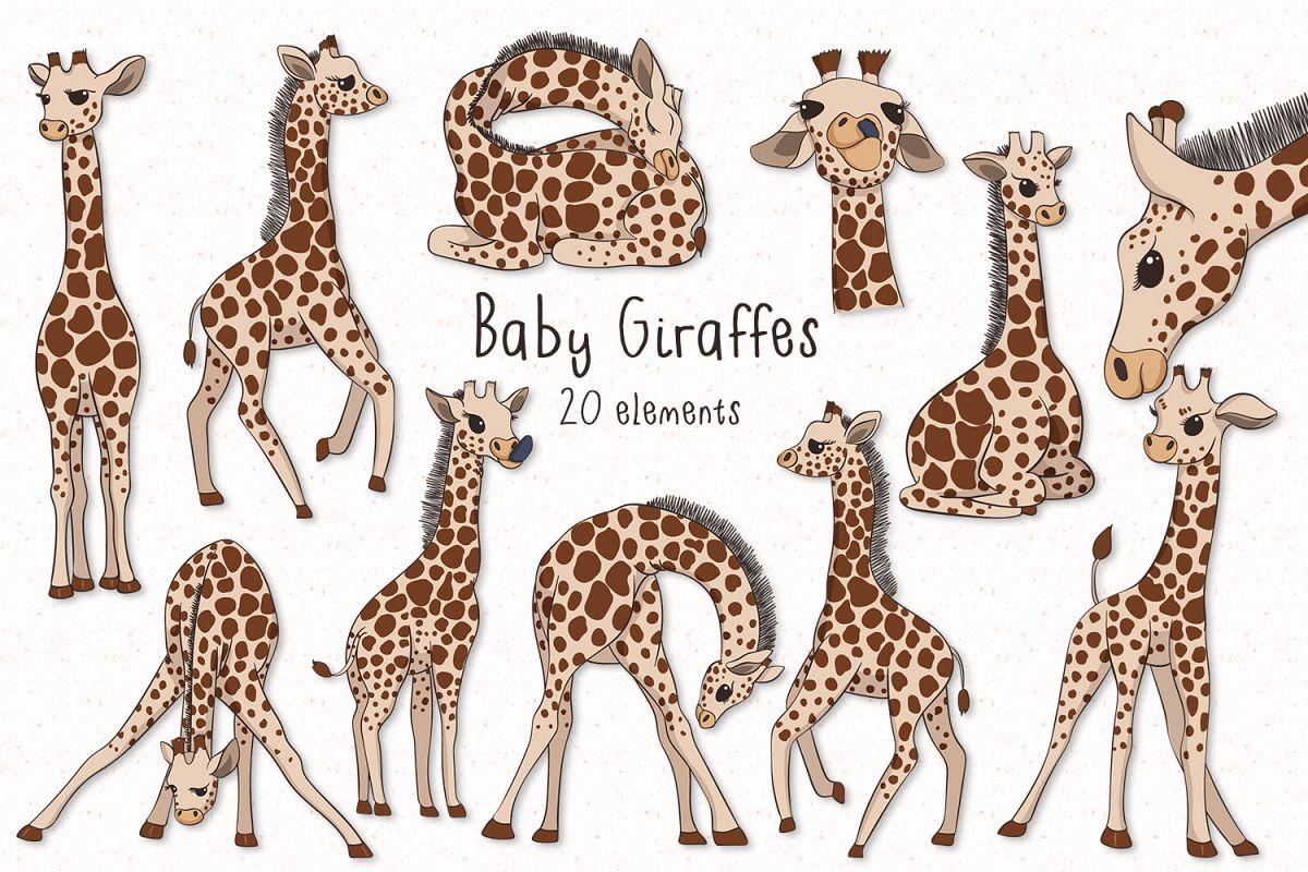 Baby Giraffes example image 1