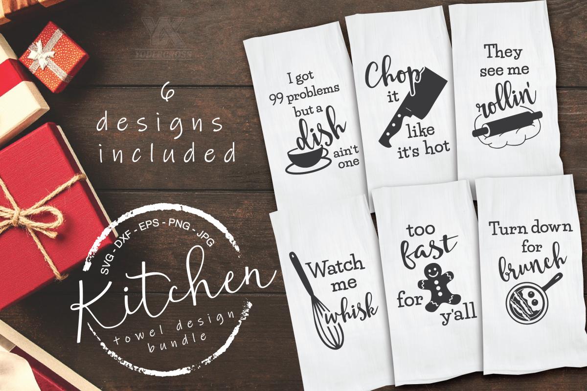 Kitchen SVG Bundle example image 1