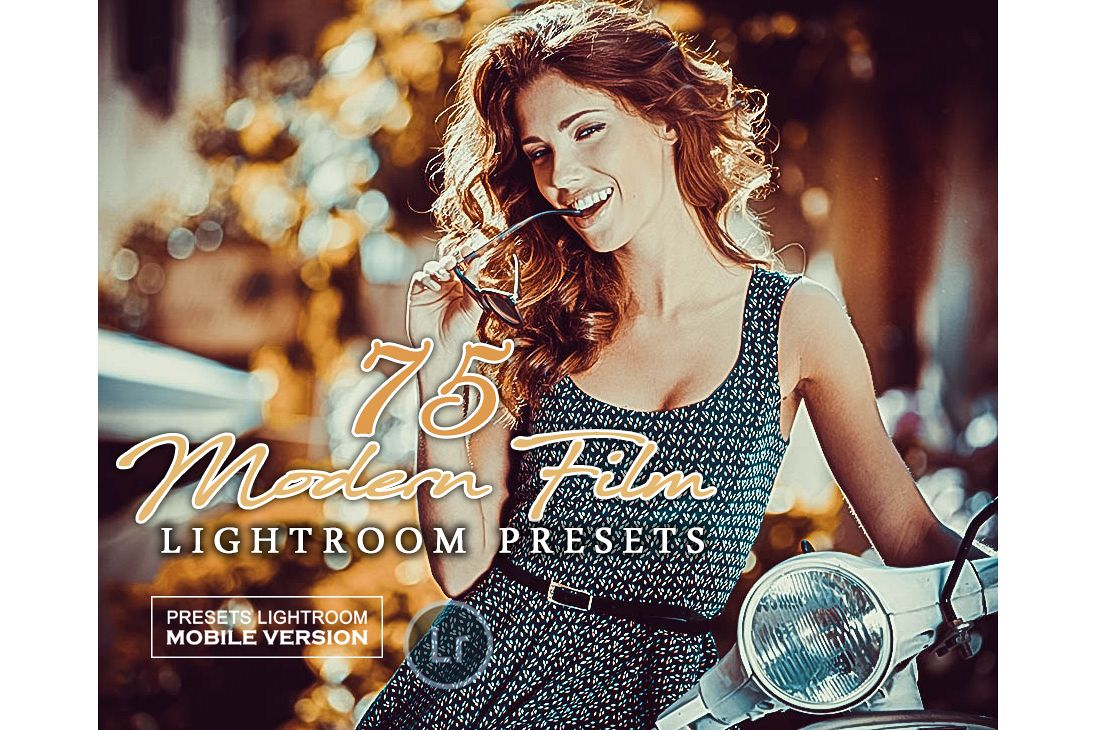 Modern Film Lightroom Mobile Presets Adroid and Iphone/Ipad example image 1
