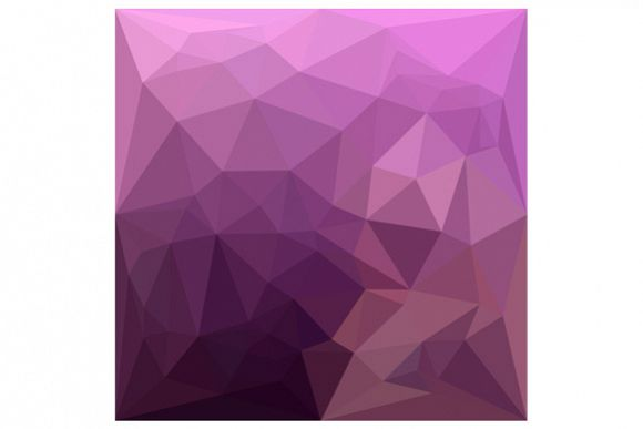 Fandango Lavender Abstract Low Polygon Background example image 1