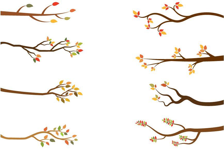 fall branches clip art autumn tree bra design bundles rh designbundles net autumn tree branch clip art