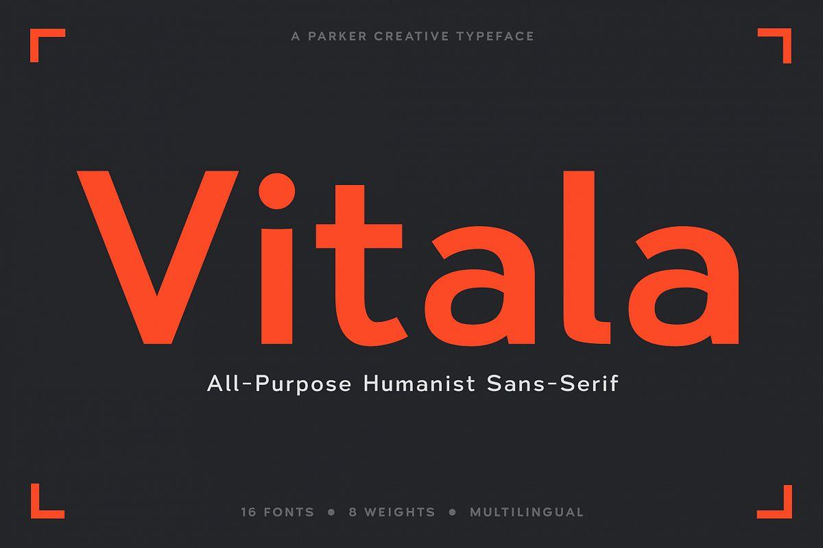 Vitala - A Workhorse Sans-Serif