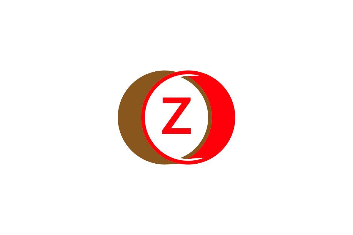 z letter circle logo example image 1