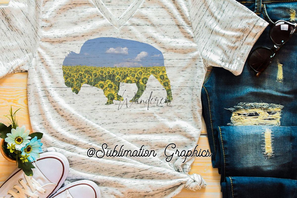 Wanderer Sublimation Digital Download example image 1