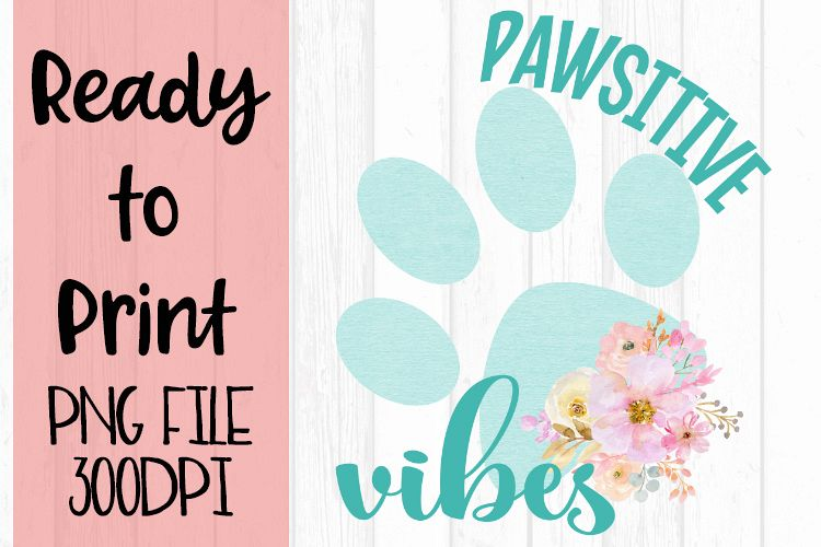 Paws-ative VibesReady to Print example image 1