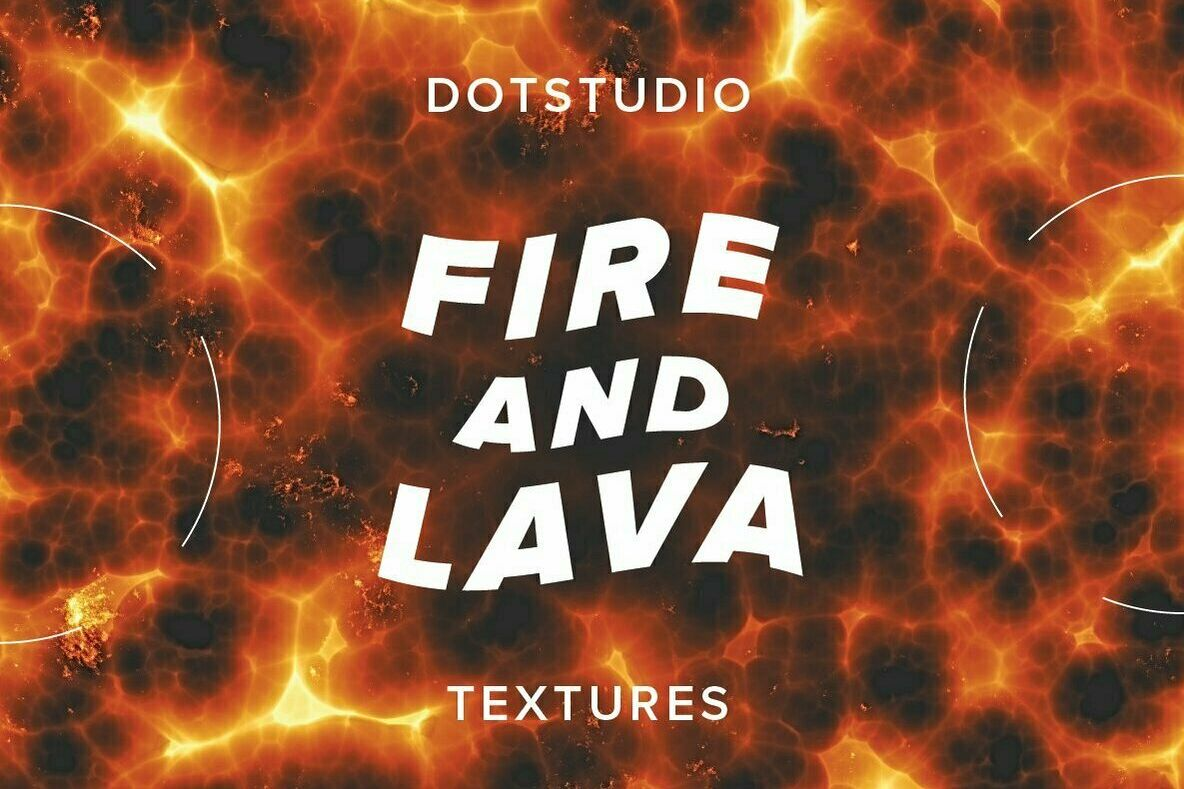 Fire and lava textures example image 1