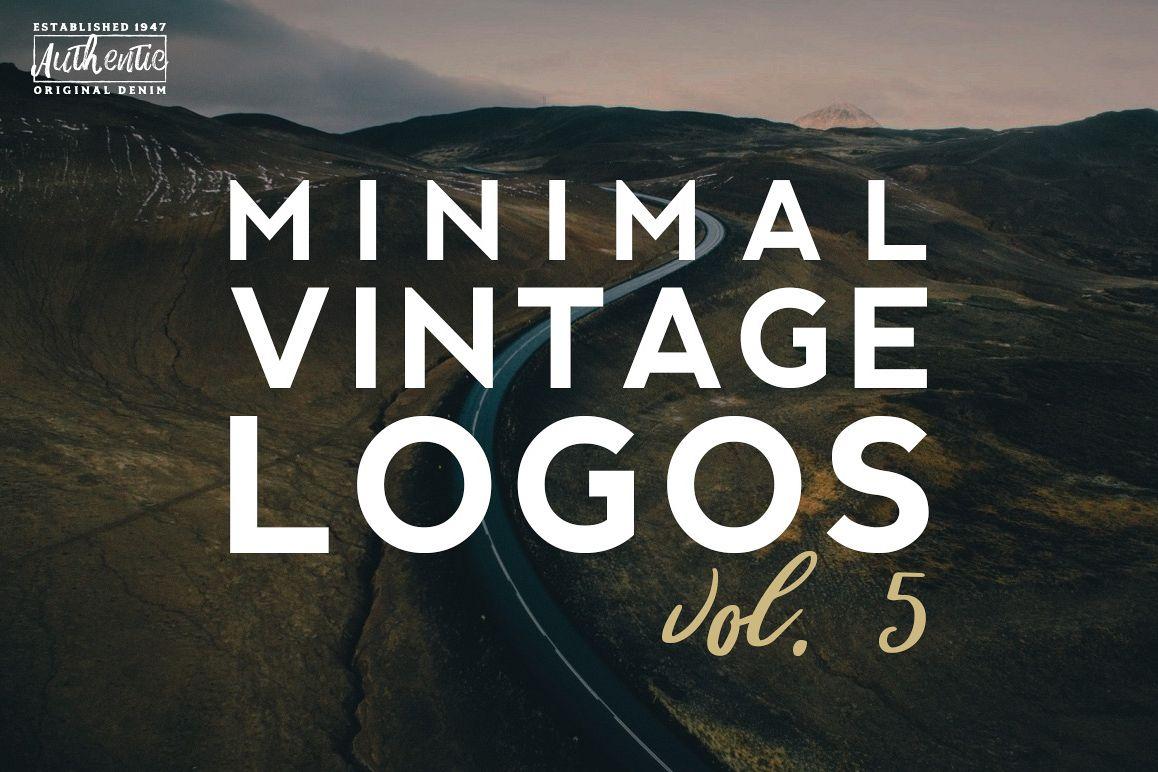 Vol. 5 | 20 Minimal Vintage Logos example image 1