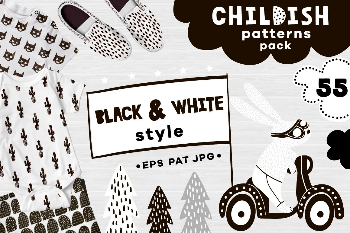 Childish patterns pack example image 1