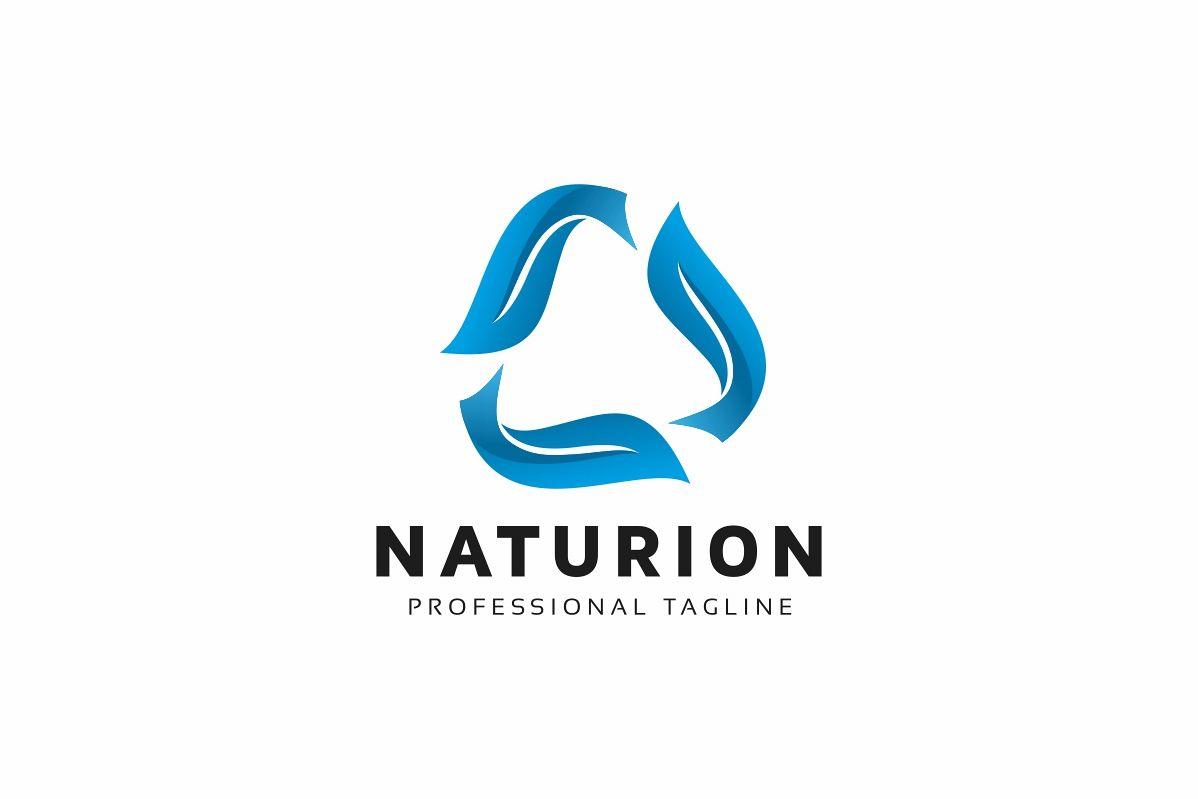 Nature Rotation Leaves Logo example image 1