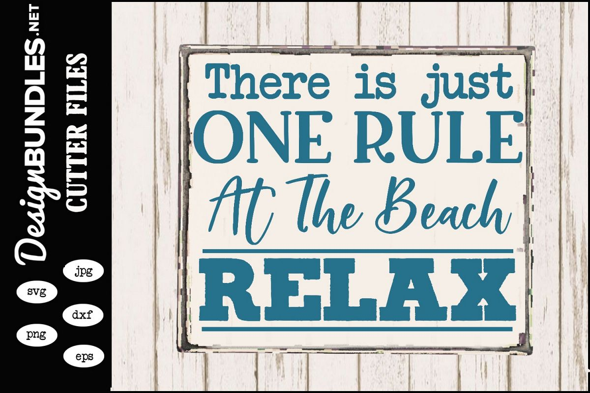 Beach Rule SVG example image 1