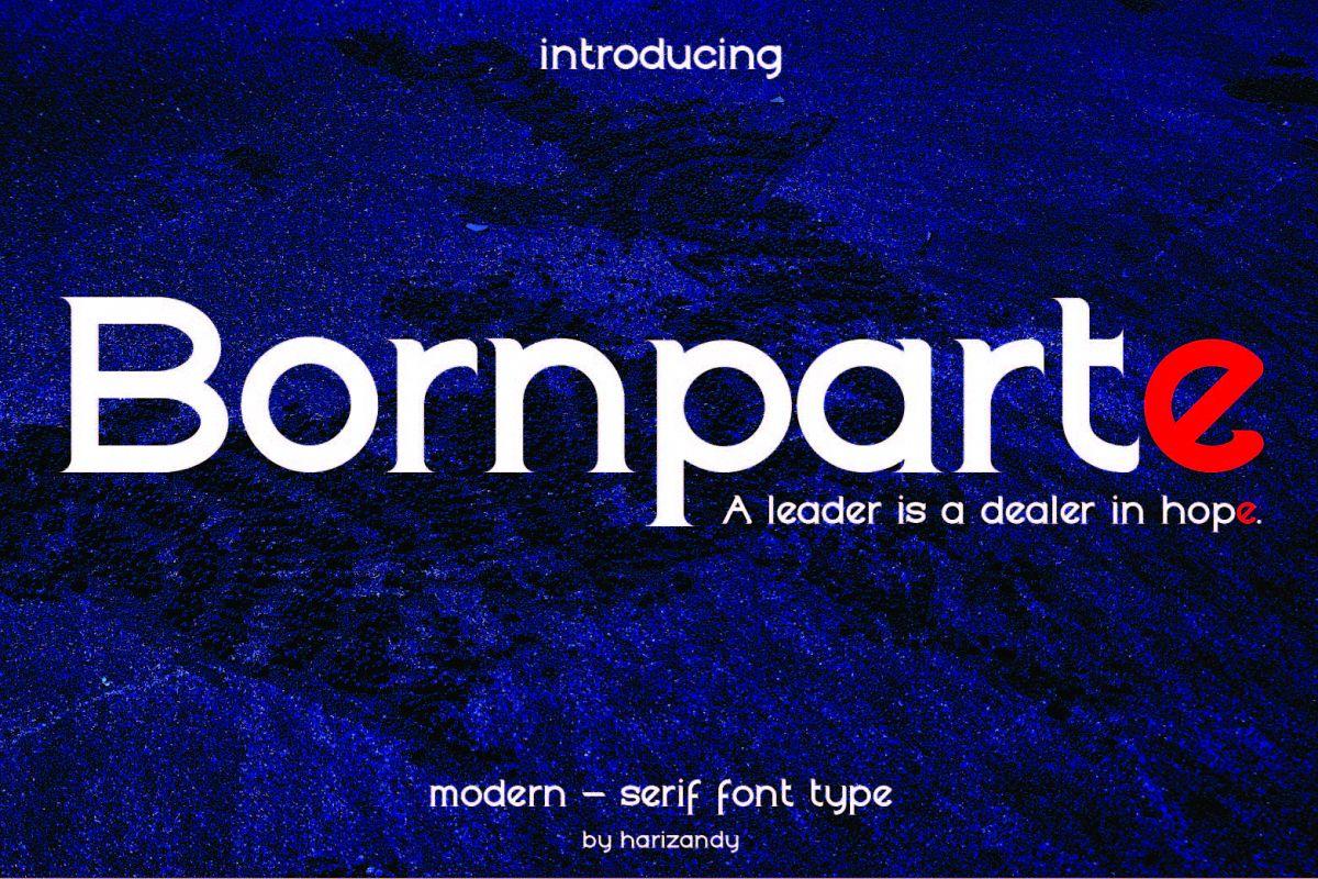 Bornparte example image 1