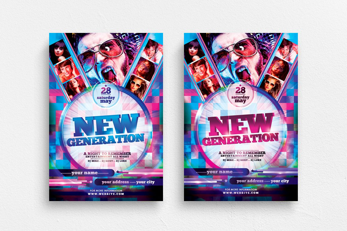 New Generation Flyer Template example image 1
