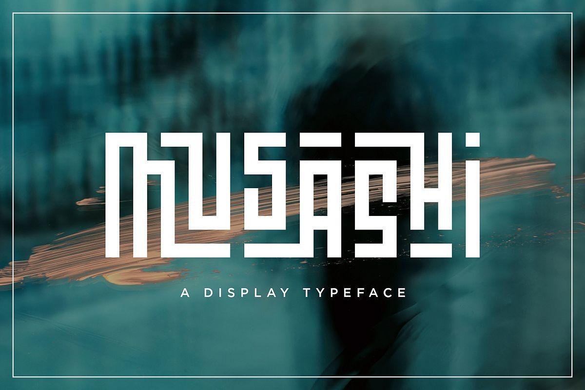 Musashi | Display Ligature Font example image 1