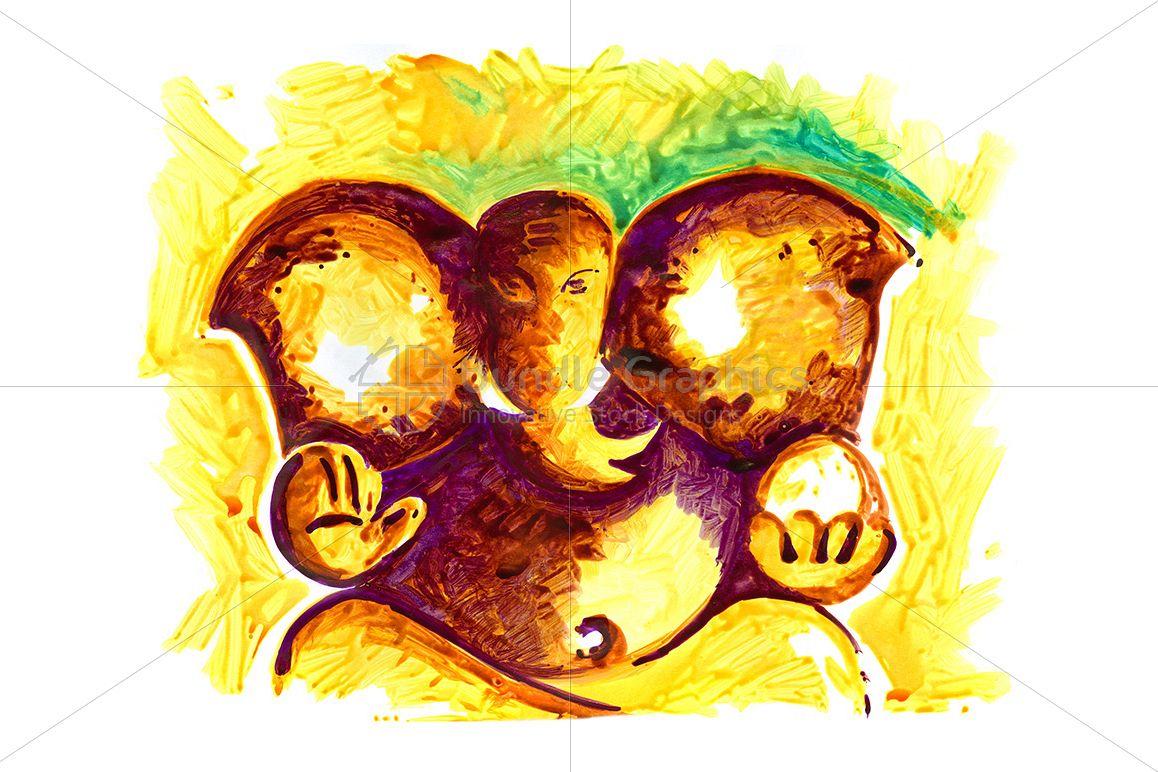 Lord Ganesha - Painting example image 1