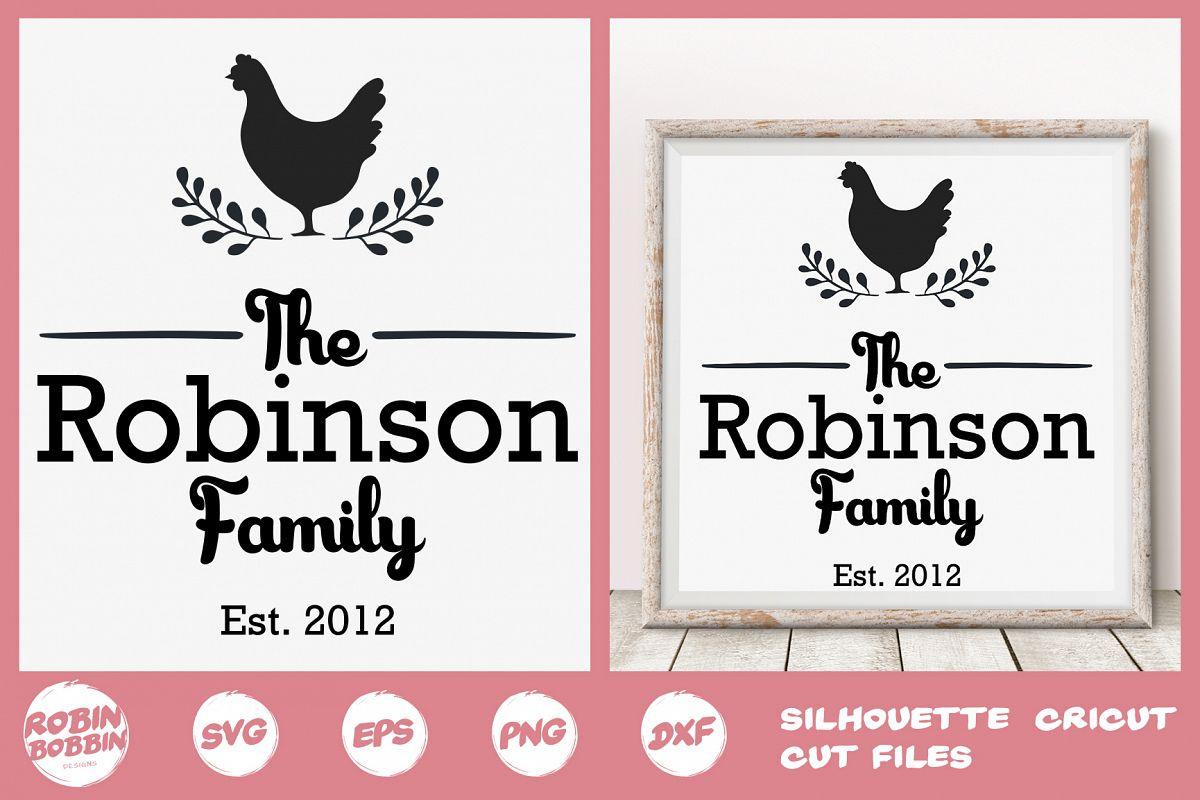 Family SVG, Newlyweds SVG, Farmhouse svg, Family Printable example image 1