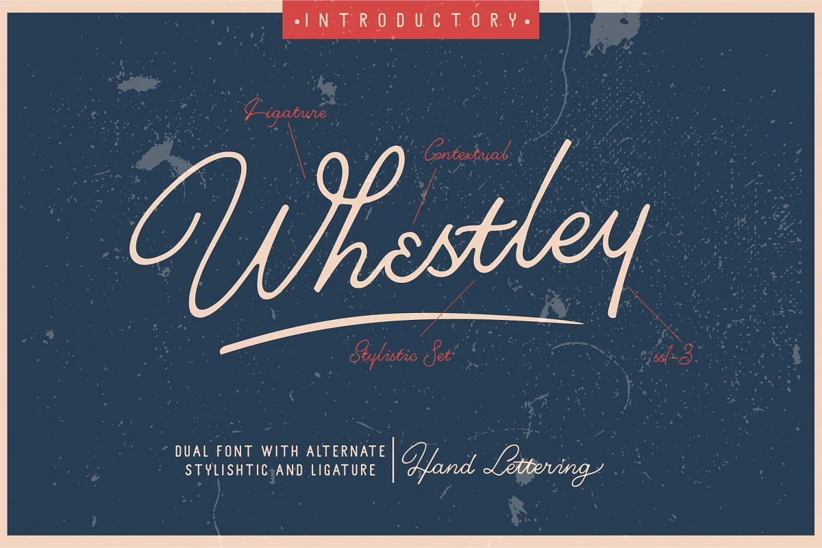 Whestley Handlettering example image 1