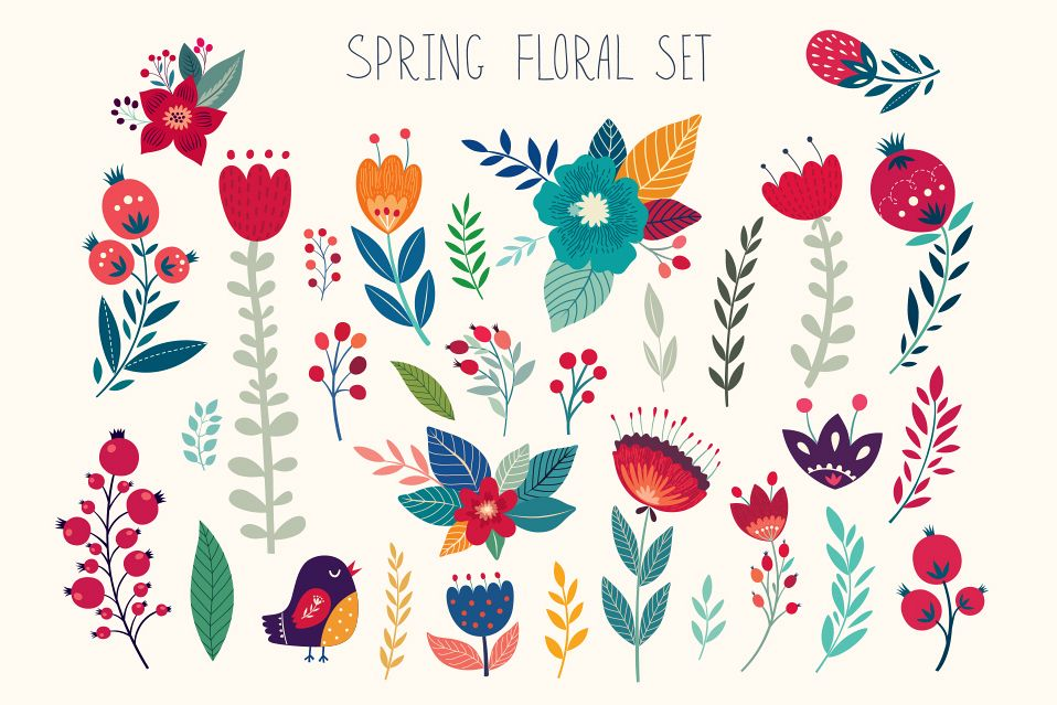 SPRING FLORAL COLLECTION example image 1