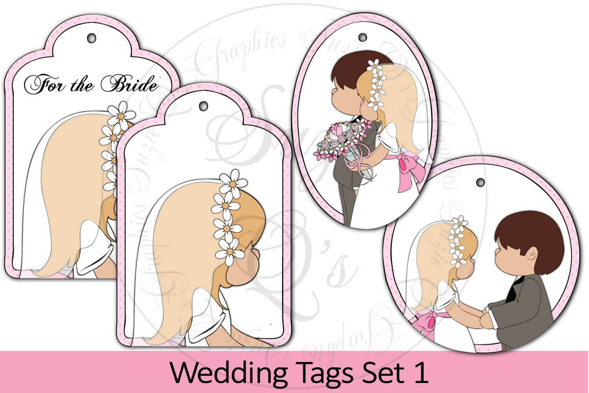 Wedding Tags Set 1 example image 1
