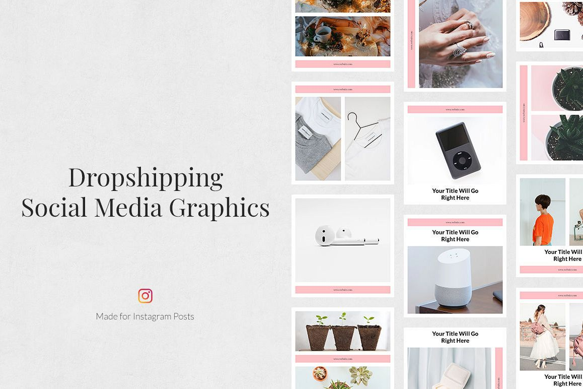 Dropshipping Instagram Posts example image 1