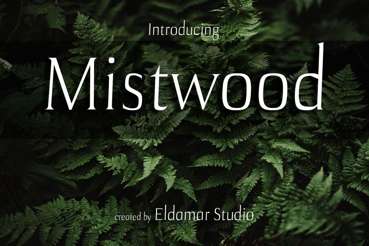 Mistwood Font example image 1