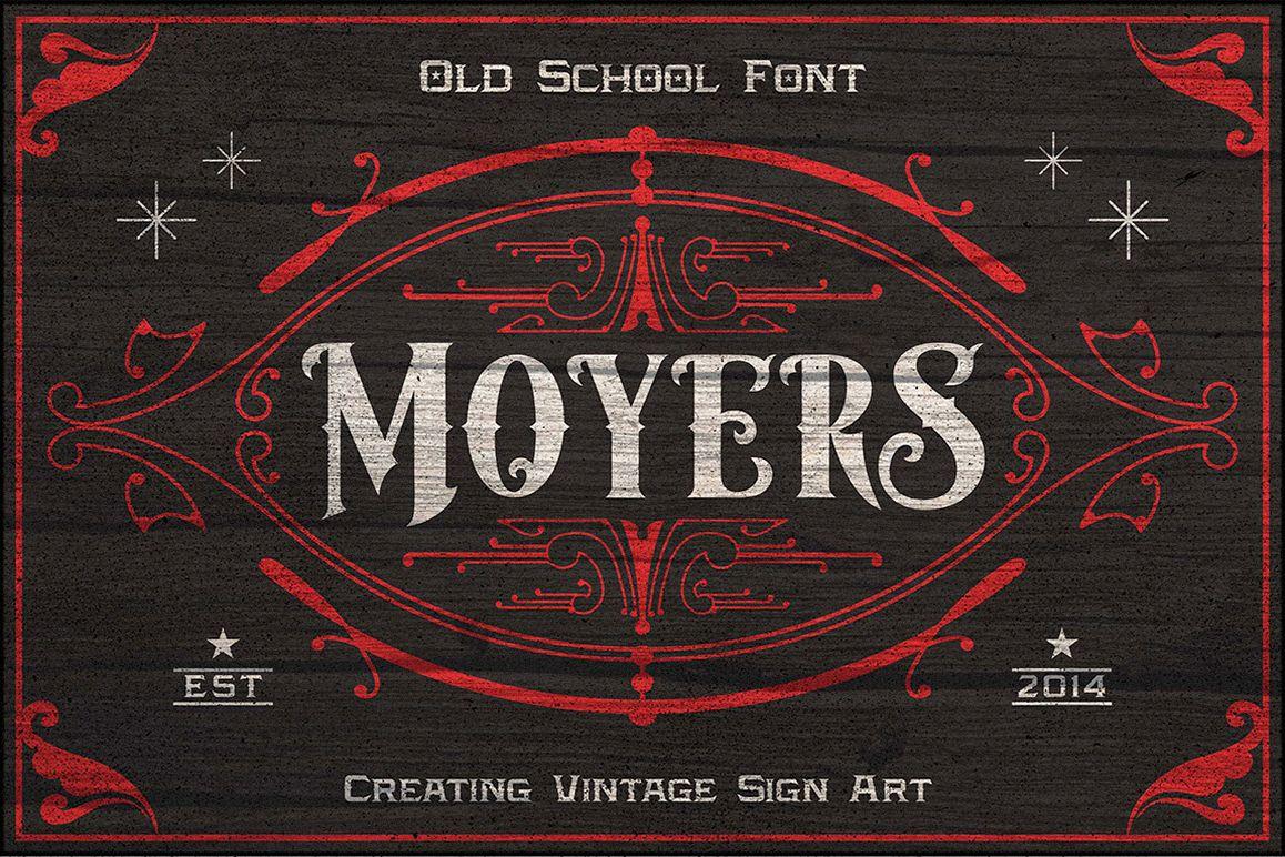 Moyers Typeface example image 1